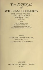 eeb01c46586 The Journal of William Lockerby 1808-1809. George Lowe was with Lockerby on  the Jenny in 1808.